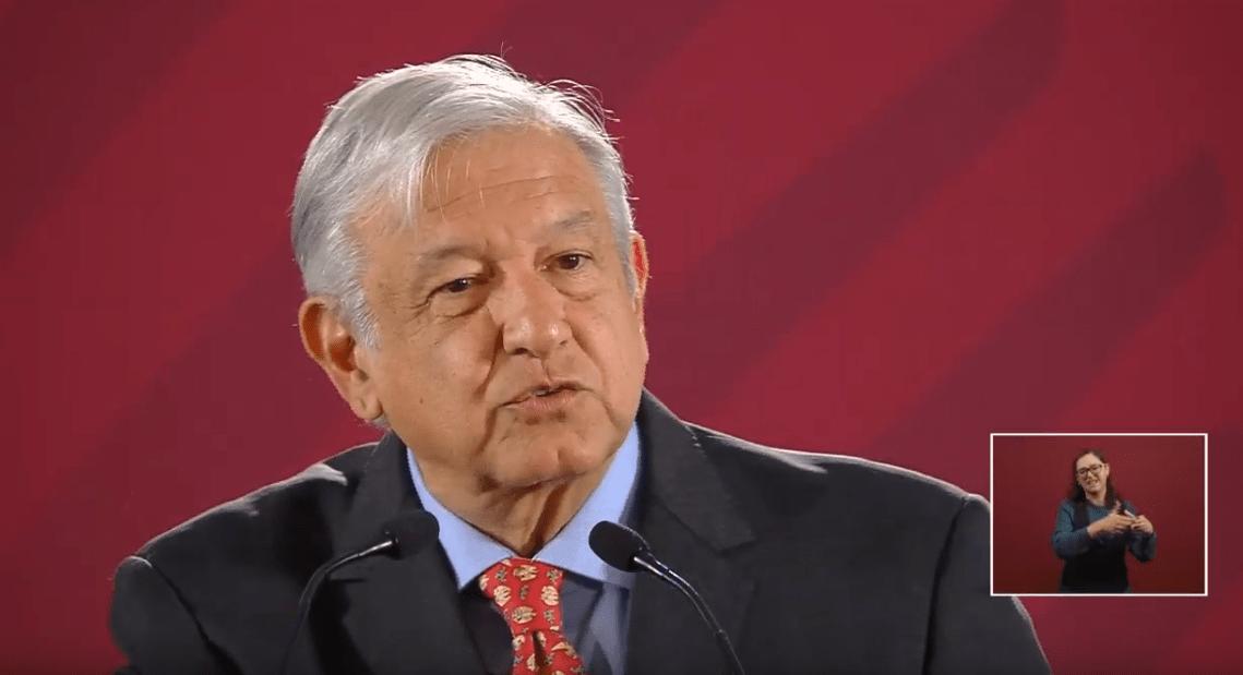 Foto: Andrés Manuel López Obrador en Palacio Nacional, 22 de mayo de 2019, Ciudad de México