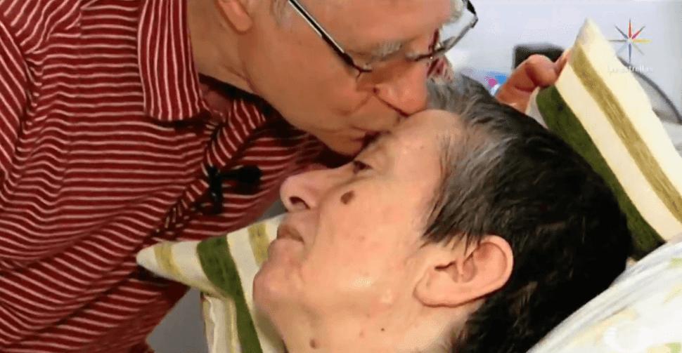 Foto: Español Ángel Hernández ayuda a morir a su esposa, mayo 2019, España