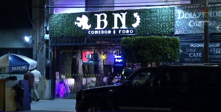 Foto: Sujetos armados asaltan un restaurante ubicado en la colonia Narvarte, 1 mayo 2019