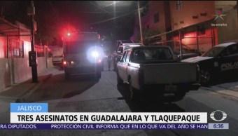 Asesinan a dos hombres durante un novenario en Guadalajara, Jalisco