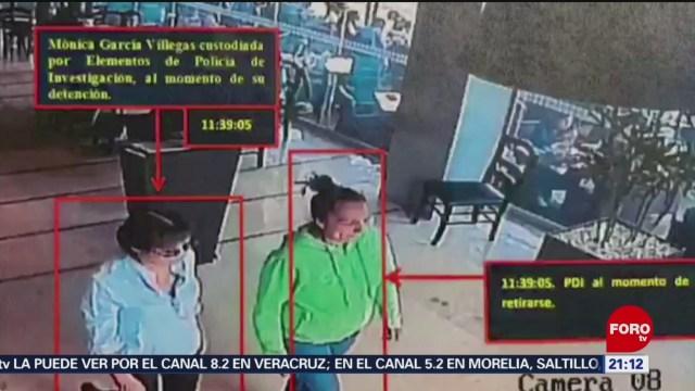 Foto: Detención Mónica García Villegas Rebsamen 21 Mayo 2019