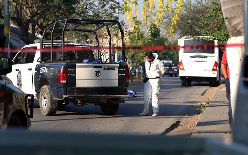 Foto: ataque a custodios en Morelos, 10 de mayo 2019. EFE