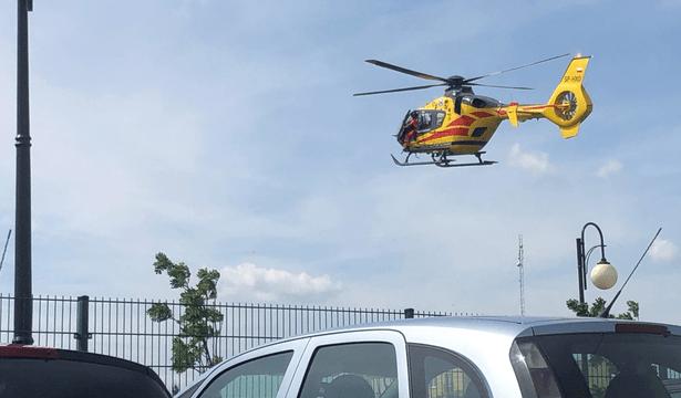 Foto: Ataque en una escuela primaria de Polonia, 27 de mayo de 2019, Polonia