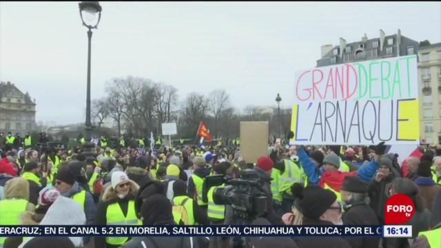 FOTO: Autoridades creen que chalecos amarillos causan incremento de delincuencia en Francia