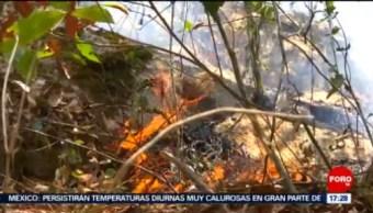 FOTO: Avanza incendio en Sierra Gorda, Querétaro, 24 MAYO 2019