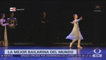 Bailarina Elisa Carrillo recibe premio Benois de la Danse