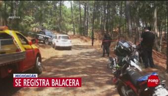 Foto: Balacera Michoacan Uruapan Muertos 22 Mayo 2019