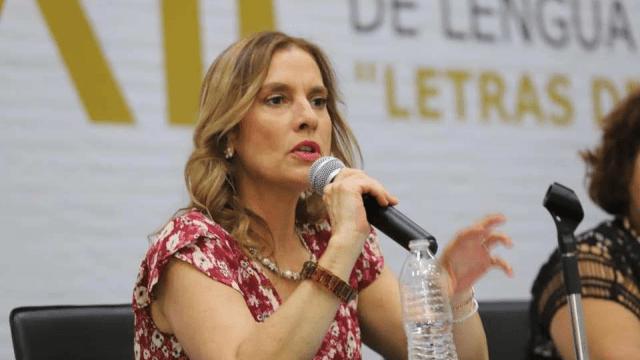 FOTO: Beatriz Gutiérrez Müller, investigadora y escritora, el 12 de enero de 2020
