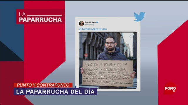 Foto: Becas Científicos AMLO Noticias Falsas 20 Mayo 2019