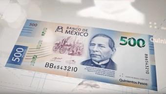 billete-500-pesos-Benito-Juarez-billete-ano-Canada
