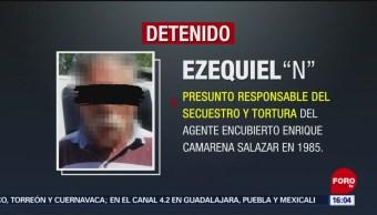 Foto: Cae secuestrador de agente de la DEA Enrique Camarena