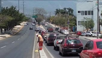 Foto: reportan mala calidad del aire en Tuxtla Gutiérrez, Chiapas, 2 de mayo 2019. Twitter @TuxtlaCapital
