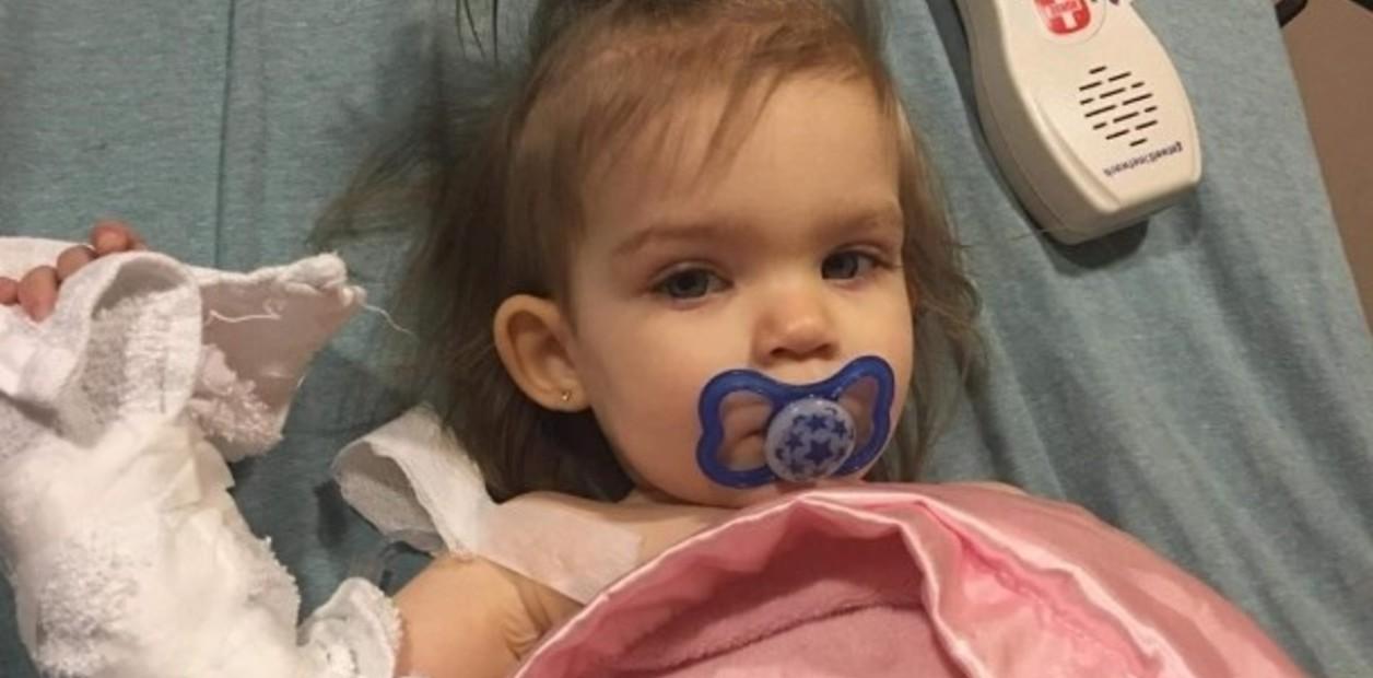 Callie enfrenta un agresivo tratamiento contra el cáncer, en el que deberá someterse a una cirugía para extirpar un tumor (NBC News Proveída por la familia Shaffer)