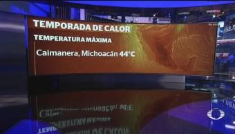 Foto: Calor Afecta México Clima 21 Mayo 2019