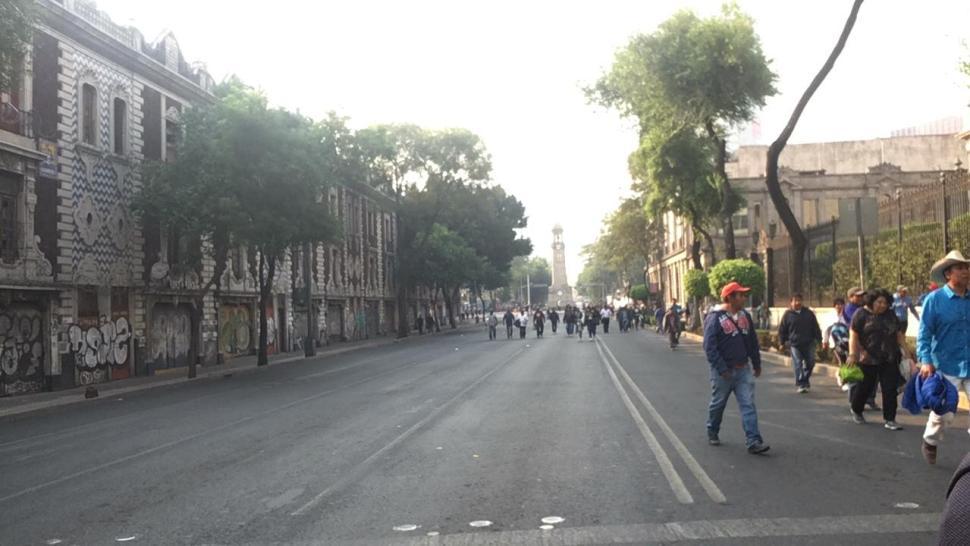 Foto Campesinos protestan frente a Segob 13 mayo 2019