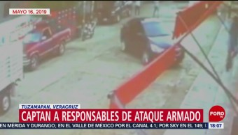 FOTO: Captan en video ataque armado en Tuzamapan, Veracruz