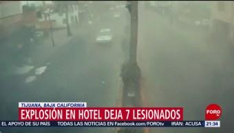 Foto: Video Explosión Hotel Tijuana 16 de Mayo 2019