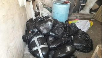 Foto: cuerpos hallados en casa de seguridad en Jalisco, 17 de mayo 2019. Noticieros Televisa