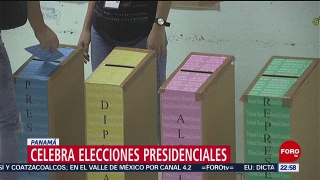 FOTO: Celebra elecciones presidenciales Panamá, 5 MAYO 2019