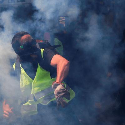 'Chalecos amarillos', protagonistas del 1 de mayo en Francia