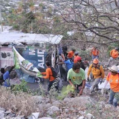 Recuperan 4.5 hectáreas invadidas en el Cañón del Sumidero en Chiapas