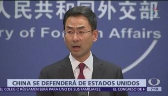 China pide no subestimar capacidad para defenderse de Estados Unidos