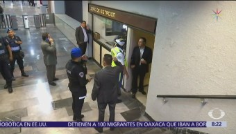Chispazo en estación Chabacano deja tres lesionados