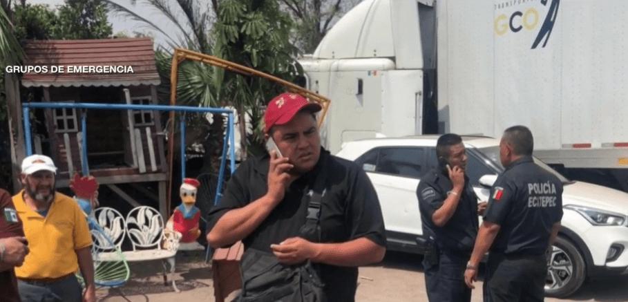 Foto: Chofer de tráiler embiste a autos luego de ataque cardiaco, 29 de mayo de 2019, Edomex