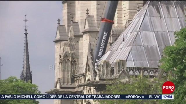 Foto: Cifra para reconstrucción de Notre Dame rebasa expectativas