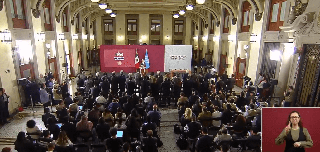 FOTO Transmisión en vivo: Conferencia de prensa AMLO 20 de mayo 2019 (YouTube cdmx)