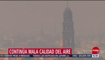 Foto: Continúa mala calidad del aire en Puebla