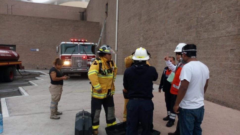 Foto Controlan incendio en casino de Angelópolis Cholula Puebla 29 mayo 2019