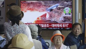 Foto: Corea del Norte realizó una nueva prueba de armas, 4 mayo 2019