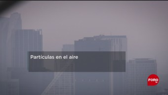 FOTO: Daños a la salud de partículas en el aire, 25 MAYO 2019
