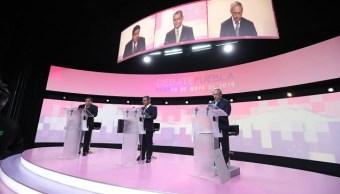 Debaten candidatos a la gubernatura de Puebla
