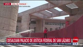 Decretan día inhábil en Palacio de Justicia San Lázaro por amenaza de bomba
