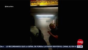 Desalojan andén de Metro Balderas, en CDMX, por humo