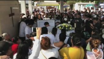 Foto: Funeral Germán Mauricio Menor Asesinado Manzanillo Colima 28 Mayo 2019