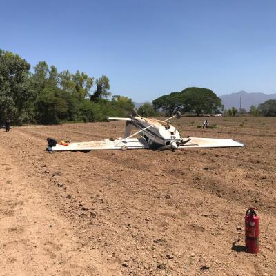 Se desploma avioneta en Puerto Vallarta, Jalisco