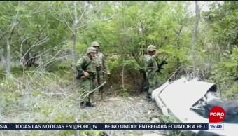 FOTO: Desplome de avioneta deja dos muertos en Q. Roo