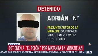 Foto: Detienen El Pelón Por Masacre Minatitlán 3 de Mayo 2019