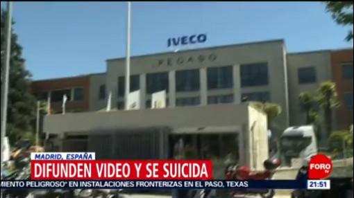 Foto: Video Sexual Iveco España Suicidio Suicida 31 Mayo 2019