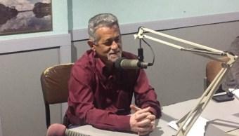 Foto: El diputado opositor Américo De Grazia habla en un programa de radio en Caracas, Venezuela. El 3 de mayo de 2019