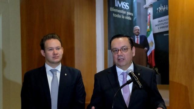 Foto: Germán Martínez, director del IMSS, 13 de mayo 2019. (IMSS)