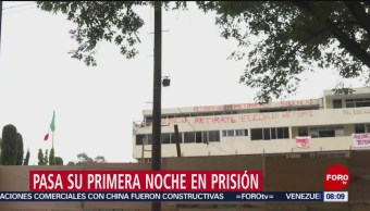 FOTO: Directora del Colegio Rébsamen pasa su primera noche en prisión, 12 MAYO 2019