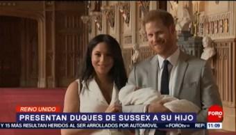 Duques de Sussex nombran a su hijo Archie Harrison Mountbatten-Windsor