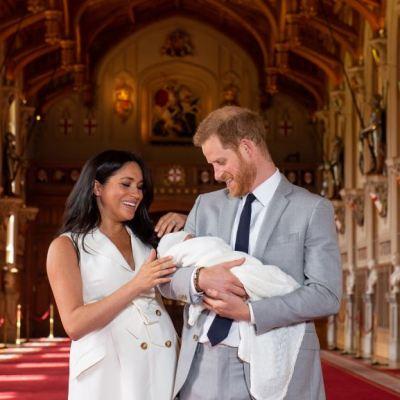 Duques de Sussex presentan a su primer hijo en el Castillo de Windsor