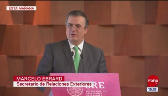 Ebrard inaugura foro binacional México-Canadá