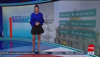 Foto: El Clima 'A las Tres' con Daniela Álvarez del 7 de mayo de 2019