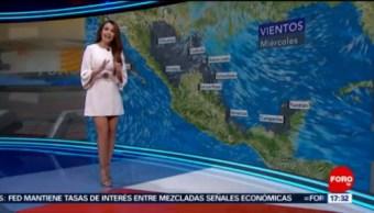 FOTO: El Clima con Mayte Carranco [01-05-19], 1 MAYO 2019